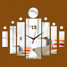 Mirror Wall Sticker 3d Wall Stickers Home Decor Europe Acrylic Clock Poster