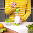 XZQD-Citrus Zinger Juice Lemon Bottle Drinking Water Bottle Twist Infuse 794ML