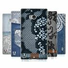 HEAD CASE DESIGNS JEANS AND LACES SOFT GEL CASE FOR NOKIA LUMIA ICON / 929 / 930
