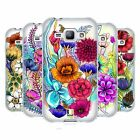 HEAD CASE DESIGNS WATERCOLOURED FLOWERS SOFT GEL CASE FOR SAMSUNG PHONES 4