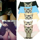Funny Cartoon Pussycat Panties Briefs Anti Emptied Cat Meow Star Cat Pant Hs