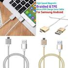 Magnetic Braided/TPE Micro USB Fast Charging Data cable Fr Android,Samsung S6 S7