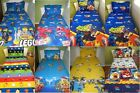 New BOYS Avengers, Lego, Super Heroes Single fitted sheet + Pillowcase