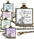 Blessed to have you as my Godmother Glass Top Pendant Necklace Godchild Gift