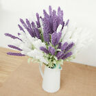 Home Decoration Wedding Silk Flower High Simulation 12 Heads Lavender Bouquet