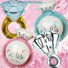 "HUGE RINGS Engagement Wedding Foil Balloons ""I Do"" Bridal Shower Party Supplies"