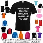 T-Shirt Personalizzata Stampa 30x40 cm Cotone Fruit of the Loom Russell BabyBugz