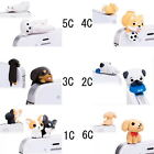 3D Anti-Dust Dock Cover Headphone Cap 3.5mm Plug Stopper for iPhone Samsung Hot