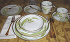 Anna Weatherley White Tulips Dinnerware: Plates, Bowls, Teacup & Saucer & Mug