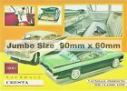 Vauxhall Cars Adverts Fridge Magnets 90mm  x 60 BUY UP TO 3 Mix No EXTRA P&P