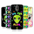 HEAD CASE DESIGNS ALIEN EMOJI SOFT GEL CASE FOR MOTOROLA MOTO G4 / G4 PLUS