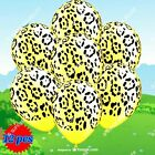 LEOPARD PAW COW TIGER ZEBRA SAFARI ANIMAL PRINT Balloons Birthday Party Supplies