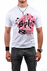 SPLIT Paint On, T-Shirt, Weiss,Skate, Bike, Classic, Board, Kult S, M, L, XL