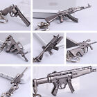 New Metal Cross Fire Mini Pistol AWM MP5 AUG A1 GUN Keychains Keyrings Fans Gift