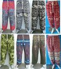 Baggy Pants Harem Ali Baba Hippy Trousers Men's Women's Aladdin Yoga Festival