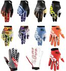 100% Gloves MTB Motorcycle Dirt Bike Glove All Styles & Colors