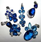 SELECTION OF BLUE GEMSTONE & SILVER NECKLACES LADIES GIFT IDEA BUY 2 GET 1 FREE
