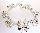 FAB SELECTION OF STERLING SILVER BRACELETS STARFISH BUTTERFLY BUY 2 GET 1 FREE