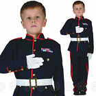 BOYS CEREMONIAL ARMY OFFICER FANCY DRESS COSTUME SOLDIER CHILDS 4 KIDS UNIFORM