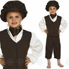 BOYS VICTORIAN POOR ORPHAN FANCY DRESS COSTUME BOY HISTORIC CHILDS KIDS TUDOR