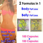 200x STRONG PURE HERB Weight Loss Pill FLAT STOMACH Slimming Fat Burn Garcinia