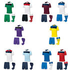 JOMA CREW FOOTBALL SHORT SLEEVE KIT 14 SHIRTS, SHORTS, SOCKS ADULTS ALL SIZES
