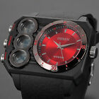 OHSEN Analog Digital Military Army Alarm Sport Mens Watch 53MM Big Case 4 Colors