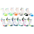 6 Pairs: Fila Shock Dry® Low-Cut Athletic Socks - Women's, Men's & Kids' Sizes