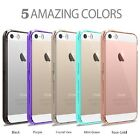 Hybrid Slim Crystal Clear Back TPU Bumper Case Cover for iph