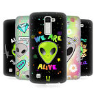 HEAD CASE DESIGNS ALIEN EMOJI HARD BACK CASE FOR LG PHONES 3