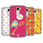 HEAD CASE DESIGNS BIRD PATTERNS HARD BACK CASE FOR LG PHONES 3