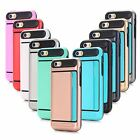 Card Holder Armor Hard Shockproof Case Cover for Apple iPhone 7 6 6S Plus