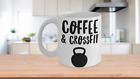 Coffee and Crossfit Mug Kettlebell Coffee Cup for Exercise Fitness Enthusiasts