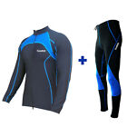 Zimco Pro Winter Cycling Super Roubiax Padded Tight/Pant & Jersey/Jacket Blue
