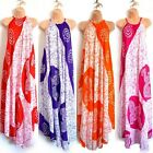 AFRICAN TRIBAL COTTON SUNDRESS MAXI DRESSES, ETHNIC BOHO HOLIDAY SPRING GIFTS