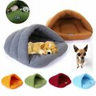 Pet Cat Dog Nest Bed Puppy Soft Warm Cave House Winter Sleeping Bag Mat Pad Xmas