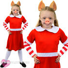 GIRLS PIG COSTUME ANIMAL TV CHARACTER WORLD BOOK DAY CHILDRENS FANCY DRESS