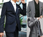 Plus Size Mens Formal Suit Two Button Wedding  Evening Party Graduation Suits