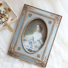 XZQD-British Retro Resin Carved Picture Glass Frame 4inch/6inch
