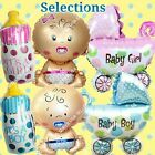 SELECTIONS BABY GIRL BOY SHOWER Foil Balloons Decor Birthday Party Supply lot B