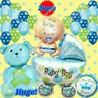 SELECTIONS BABY BOY GIRL SHOWER Foil Balloons Decor Birthday Party Supply lot S
