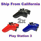 2X New Wireless Bluetooth Game Controllers For Sony PS3 Playstation 3