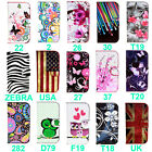 For Alcatel One Touch POP D5 OT5038E Leather Wallet Flip Stand Card Case Cover