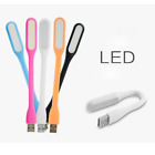 USB Mini Light Protable Bendable LED Lamp for Power Bank Computer Laptop Reading
