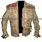 Star Wars The Force Awakens John Boyega Finn Men's Waxed Real Leather Jacket $202.64 CAD