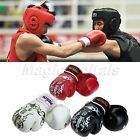 Pair MMA Boxing Gloves Sparring Muay Thai Kick Training Punching Punch Bag Mitts