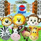SELECTNS HUGE SAFARI BARN ANIMALS BALLOONS Decor Shower Birthday Party Supply I