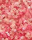 Sequins 2mm Really Tiny Pink Crystal Translucent Choose Pack Size Round Flat