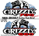 Yamaha Grizzly Oem Atv Tank Decal Graphic Sticker Kit 350 450 550 600 660 700