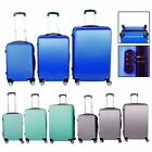 3 Pcs 360° Wheels Spinner Luggage Trolley Suitcase Travel Luggage Set Fast Ship